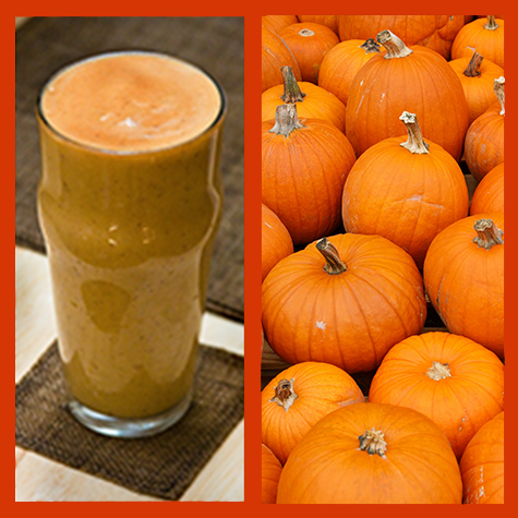 Fall Pumpkin Smoothie